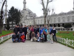 De groep bestond uit 29 jongeren.